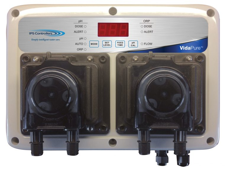 VidaPure Residential Chemical Controller w/Pumps - VP100 - IPS Chemical Automation